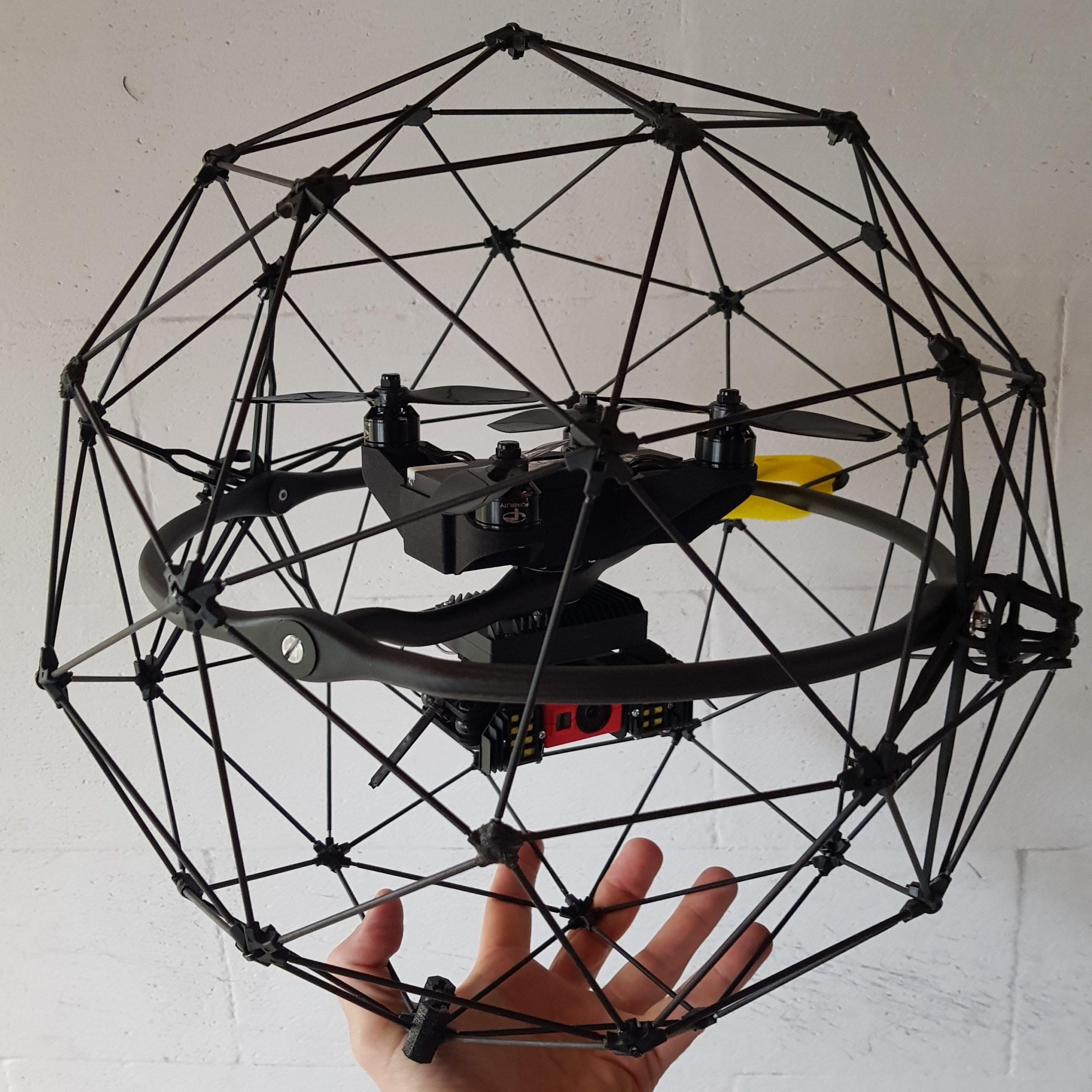 indoor inspectie drone