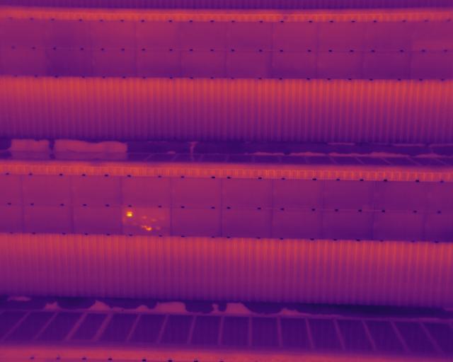Zonnepanelen drone Inspectie