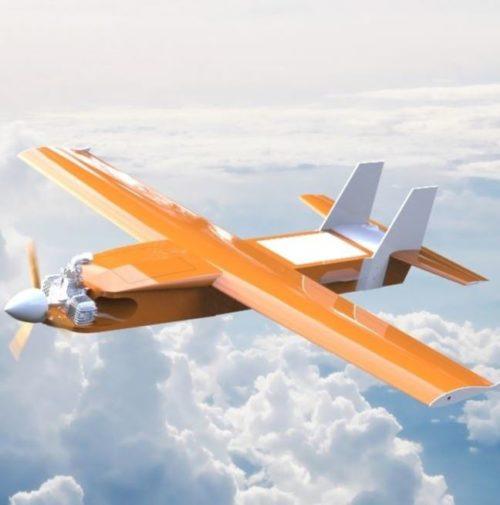 aerial target drone