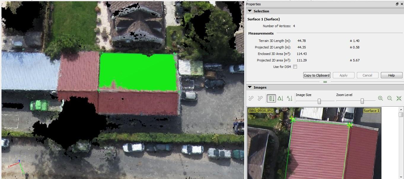 Fotogrammetrie drone