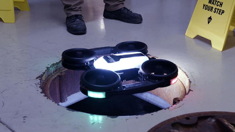 Aertos130IR indoor inspectie drone 1